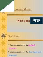 Presentation Basics Lesson 1