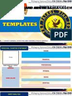 Editable Templates