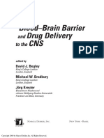 The Blood-Brain Barrier and Drug Delivery to the CNS - Begley, Bradbury, Kreuter