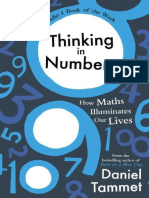 Thinking in Numbers_ How Maths - Daniel Tammet