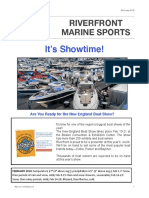 Riverfront Marine Sports Newsletter - February 2016