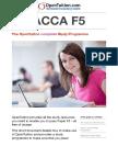 ACCA Study Guide f5
