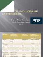 Historia de Evolucion de La Tecnologia