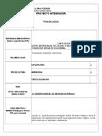 Ficha de Lectura (1) Proyecto Integrador