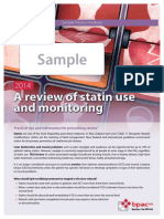 A Review of Statin Use and Monitoring