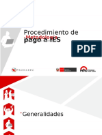 PPT Procedimiento de Pagos a IES - PRONABEC