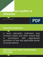 Tuition Fee Conflict & Dilemma - Simon Bob