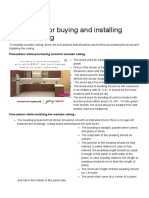 Precautions for buying and installing wooden ceiling - GharExpert.pdf