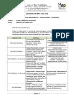 DIR-LMVS-001-2016, Fechas Comunidad Estudiantil