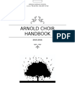 choir handbook 2015-2016 update