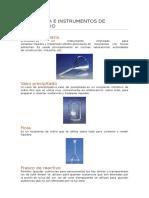 Cristalería e Instrumentos de Laboratorio
