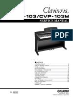 Yamaha Cvp 103 Cvp 103m