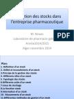 Gestion Des Stocks 2014 - Copie