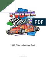 2010 Club Series Rule Book-Revised 4-7-10