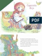 Caperucita Roja, ilustrado por POP, adaptado por Michiyo Hayano