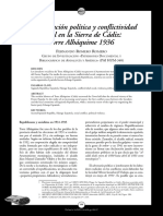 Radicalización política y conflictividad social en la Sierra de Cádiz