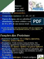 Composição Química Da Célula - Ph - Proteínas e Vitaminas