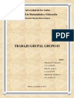 Trabajo Grupal. Formación Estética Constructiva. Grupo Nº3