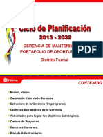 Pdo 2013-2032 Mantenimiento Furrial
