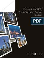 Economics of MEG Production from Carbon Dioxide