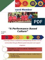 2016 Board Orientation