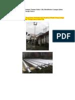 0822 4558 2777 | Jual Lampu Taman Solar Cell, Distributor Lampu Jalan PJU, Lampu Taman Tenaga Surya