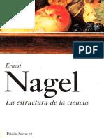 Nagel, Ernest -- La Estructura de La Ciencia