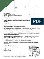 2011 05 02 - Babel - Brieven Gerrit Schotte Aan Italiaanse Authoriteiten Met Maffiaconnecties Francesco Corallo