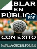 HABLAR en PUBLICO y Tener Exito - Natalia Gomez Del Pozuelo