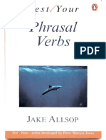 Test Your...Phrasal Verbs (Inter to Advanced) 77p