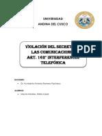 Interferencia Telefónica