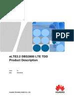 ELTE2.2 DBS3900 LTE TDD Product Description 01(20130630)