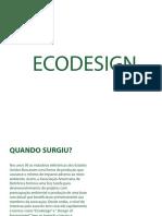 Eco Design e sua usabilidade