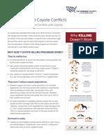 HSUS CoyoteControl