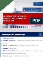 La Corruption en Tunisie - État Des Lieux Et Remèdes Vf