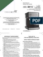 Instruction Manual Bvmc-ecmp1000 Bvmc-ecmp1001 13esm1 New
