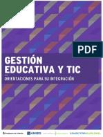 Gestión Educativa y TIC