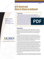 What is Rural and What is Urban in Indiana