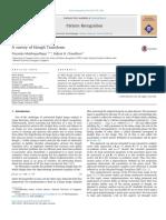 A Survey of Hough Transform Pattern Recognition Jorunal
