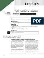 1st Quarter 2016 Lesson 8 Kindergarten Teachers Guide