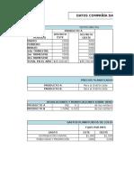 Cedulas Presupuestos Caso 5.1 Ventas