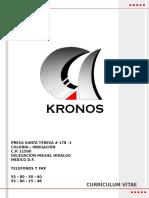 HISTORIAL DE  KRONOS-2011.pptx