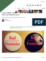 Why I Am a Bad Feminist Article