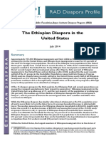 The Ethiopian Diaspora in the United States