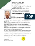 Arrest Warrant-Prince Charles