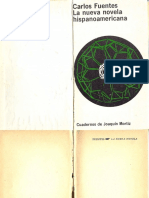 Carlos Fuentes, La nueva novela hispanoamericana