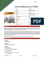 Análisis y Diseño de Edificaciones en ETABS