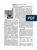 Tratamento de Solo Contaminado com Derivados de Petróleo e Ensaio de Toxicidade do Solo Tratado
