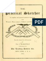 The Practical Sketcher-A Complete and Practical Method of Sketching Garments 1915