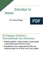 James Braga Como Estudiar La Biblia